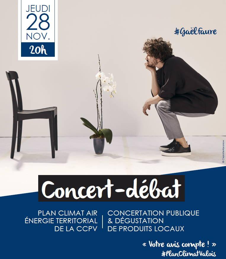 Concert Débat 28 novembre 2019